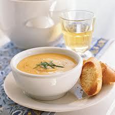 сырный суп желтое море