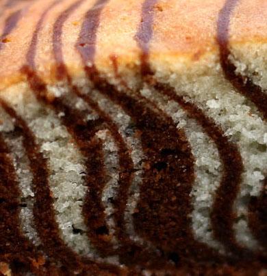 """Рецепт: Торт """"Зебра"""""""